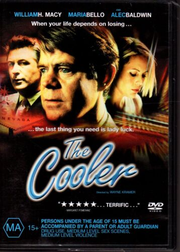 THE COOLER - DVD R4 2013) William H. Macy Maria Bello VG - FREE POST