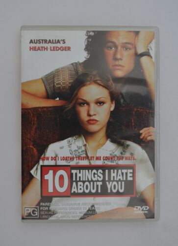 10 Things I Hate About You DVD COMEDY ROMANCE Heath Ledger R4