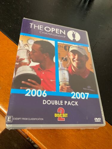 The British Open Championship 2006 & 2007 Double Pack Dvd Brand New Sealed