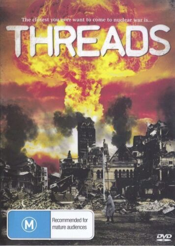 Threads DVD  Karen Meagher Reece Dinsdale New Sealed Australia Region All