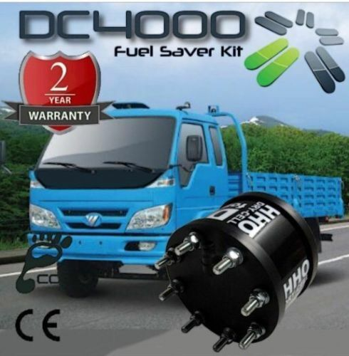 DryCell HHO DC4000T Hydrogen Generator Complete Kit for Trucks and Buses 10000cc