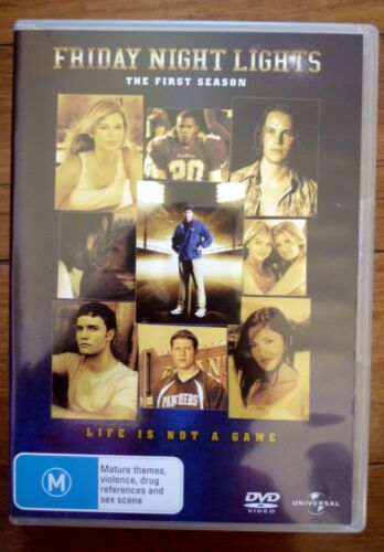 FRIDAY NIGHT LIGHTS First Season 6-Disc Set Kyle Chandler, Connie Britton