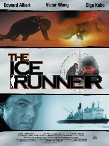 THE ICE RUNNER (DVD 1993) REGION FREE - BRAND NEW/SEALED