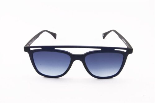 ITALIA INDEPENDENT EYEYE IS035 51 021 000 DARK BLUE BLU SUNGLASSES GRADIENT