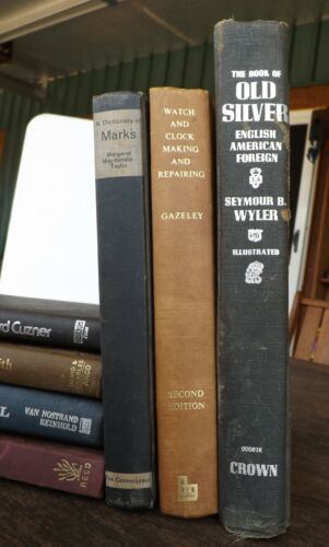 Seymour Wyler  The Book of Old Silver: English, American, Foreign 1975