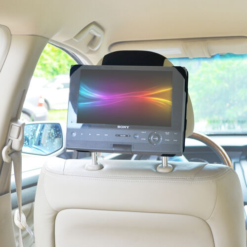 TFY Car Headrest Mount Dvd Holder TFY for Swivel & Flip DVD Player 10 Inch