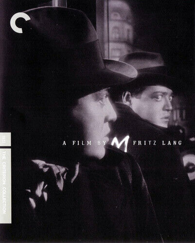 M (1931 Peter Lorre) (Fritz Lang's) (The Criterion Collection) BLU-RAY NEW