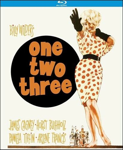 One, Two, Three BLU-RAY NEW