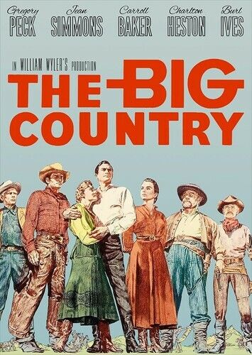 The Big Country (2 Disc) DVD NEW