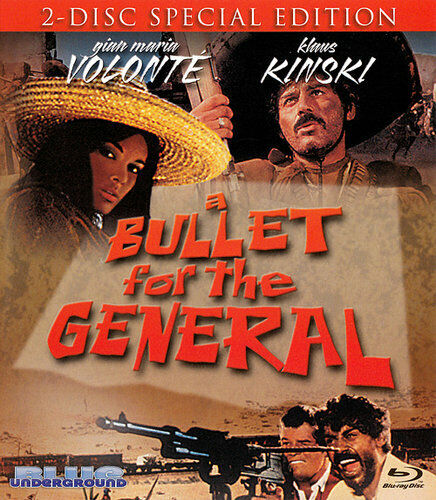 A Bullet for the General (2 Disc, Blu-ray + DVD, Special Edition) BLU-RAY NEW