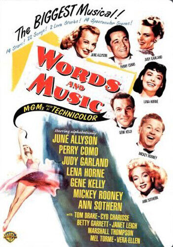 Words and Music DVD NEW
