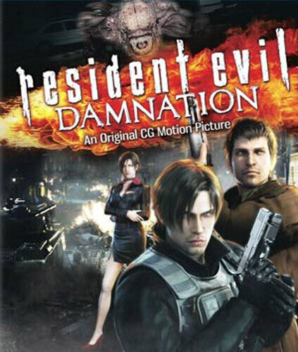 Resident Evil: Damnation BLU-RAY NEW