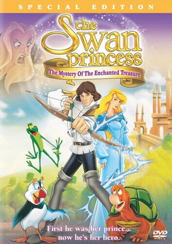 The Swan Princess: The Mystery of the Enchanted Treasure (Special Edit) DVD NEW
