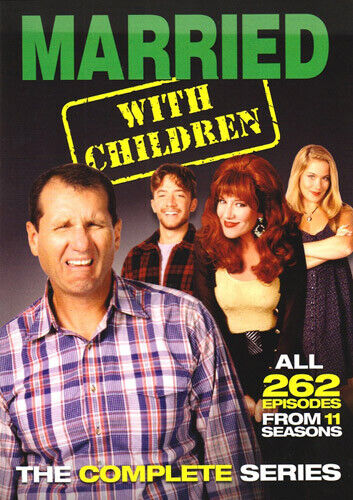Married with Children: The Complete Series (21 Disc) DVD NEW