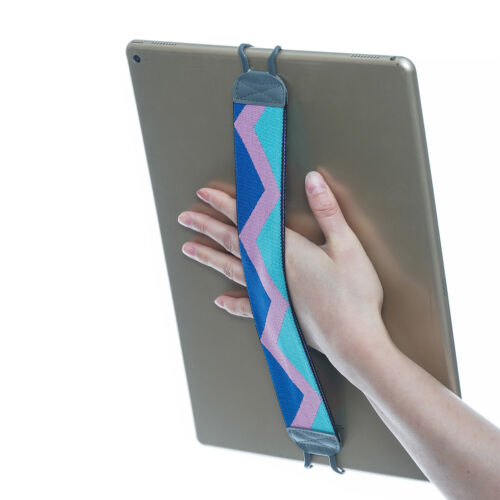 TFY Elastic Hand Strap Tablet Holder for i Pad Pro 12.9 Inch - Double layer