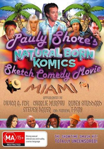 Pauly Shore's Natural Born Komics: Sketch Comedy Movie (DVD, 2009) // Brand New