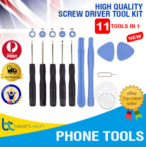 iPhone Screwdriver Set Samsung Screen Repair, Battery Repair Tool Kit 11 in 1