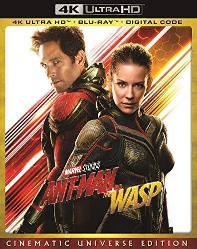 Ant-Man and the Wasp (With Blu-ray, Cinematic Universe) 4K ULTRA HD BLU-RAY NEW