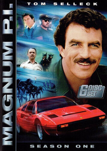 Magnum, P.I.: The Complete First Season (Season 1) (6 Disc) DVD NEW