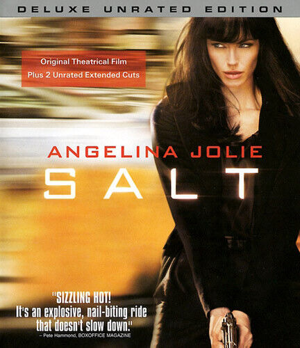 Salt (2010 Angelina Jolie) (Deluxe, Directors, Extended, Unrated) BLU-RAY NEW