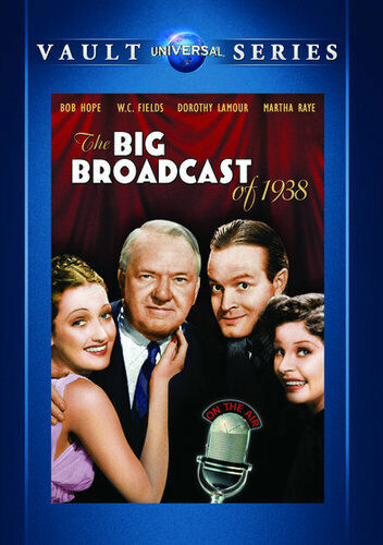 The Big Broadcast of 1938 DVD NEW