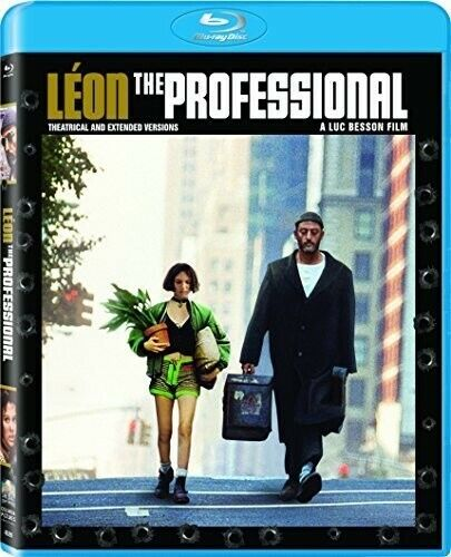 Leon: The Professional (1994 Jean Reno) (Mastered in 4K, Extended) BLU-RAY NEW