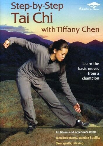 Tiffany Chen: Step by Step Tai Chi DVD NEW