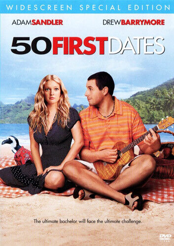 50 First Dates (Special Edition) DVD NEW