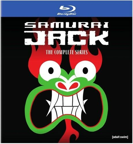 Samurai Jack: The Complete Series (5 Disc) BLU-RAY NEW