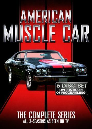 American Muscle Car: The Complete Series (6 Disc) DVD NEW