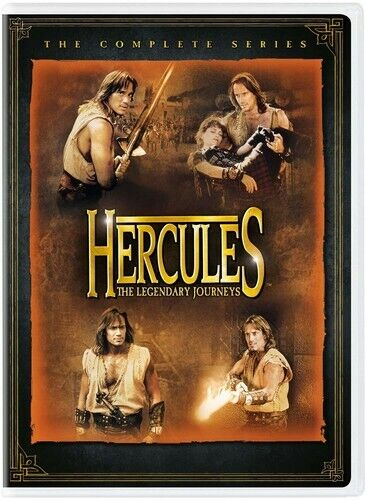 Hercules: The Legendary Journeys: The Complete Series (25 Disc) DVD NEW