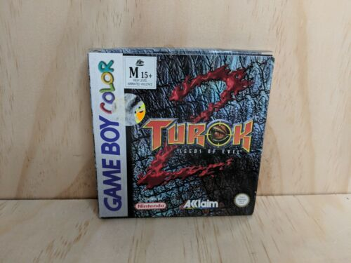 Nintendo Gameboy Color Turok 2 Seeds of Evil - Box Only