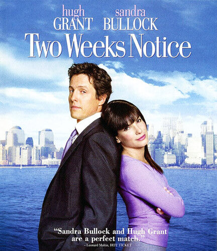 Two Weeks Notice BLU-RAY NEW