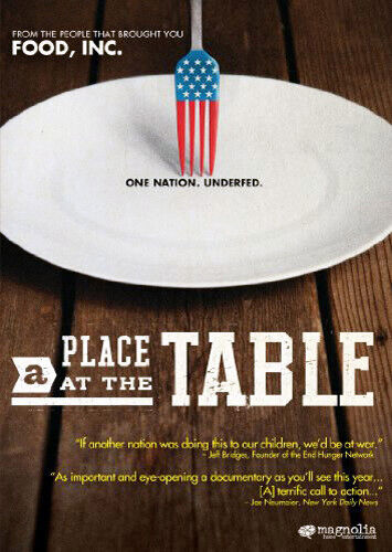 A Place at the Table DVD NEW