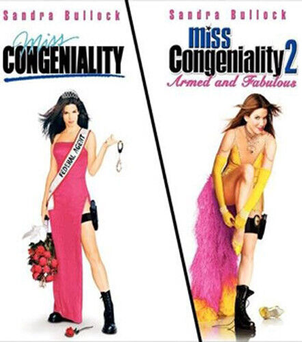 Miss Congeniality 1 / 2: Armed and Fabulous BLU-RAY NEW