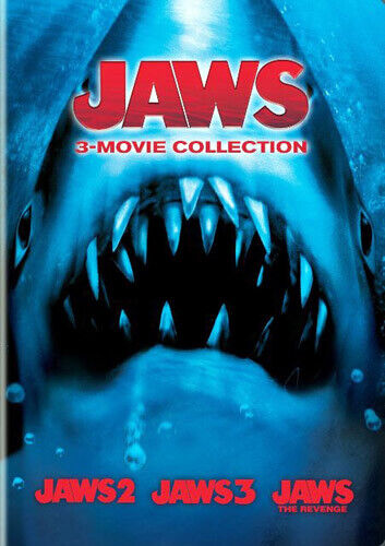 Jaws 2 / Jaws 3 / Jaws 4: The Revenge (2 Disc) DVD NEW