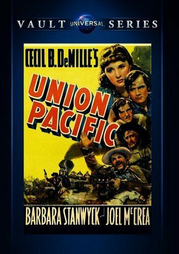 Union Pacific (1939 Barbara Stanwyck) DVD NEW