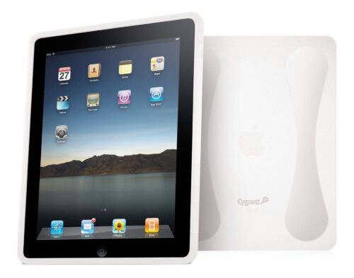 Cygnett Second Skin Clear Soft Silicon Case for iPad