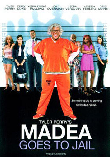 Madea Goes to Jail: The Movie (Tyler Perry's) DVD NEW