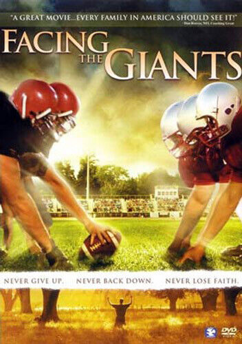 Facing the Giants DVD NEW