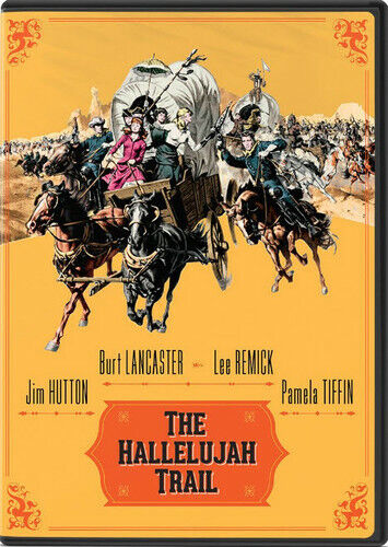 The Hallelujah Trail DVD NEW