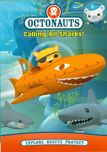 The Octonauts: Calling All Sharks DVD NEW