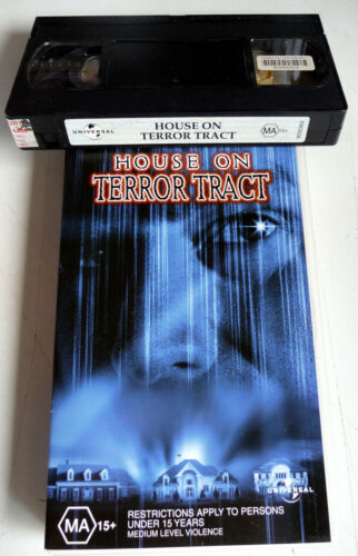 HOUSE ON TERROR TRACT Rare Horror Video Tape PAL VHS