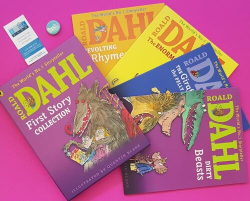 Roald Dahl First Story Collection FREE SHIPPING
