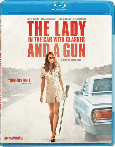 The Lady in the Car with Glasses and a Gun BLU-RAY NEW