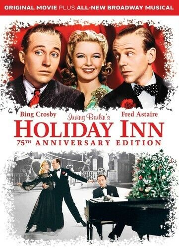 Holiday Inn (1942) / Holiday Inn: The Broadway Musical (2016) (2 Disc) DVD NEW