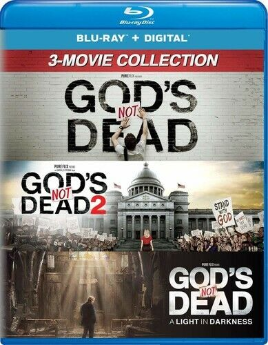 God's Not Dead Collection: 1 / 2 / 3: A Light in Darkness (3 Disc) BLU-RAY NEW