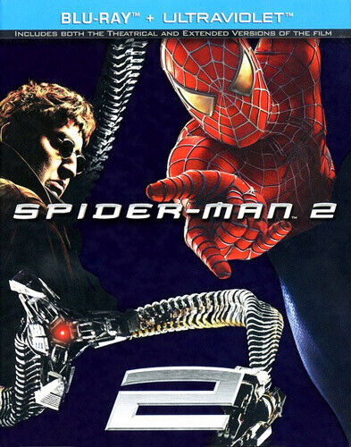 Spider-Man 2.1 (2004 Tobey Maguire) (Extended Version) BLU-RAY NEW