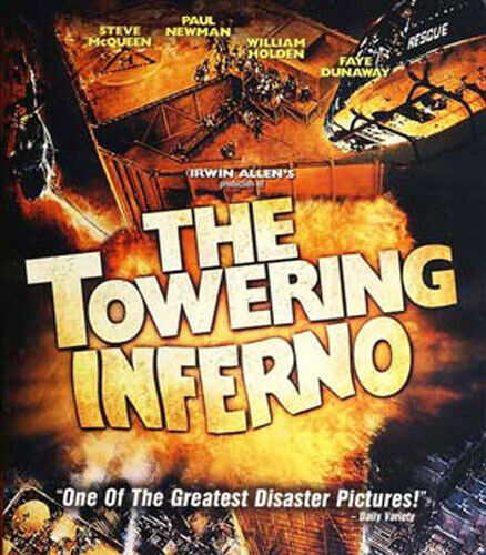 The Towering Inferno BLU-RAY NEW
