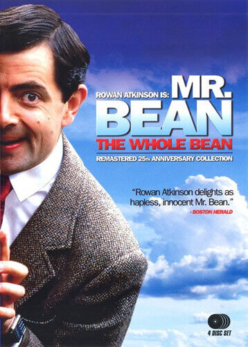 Mr. Bean: The Whole Bean: The Complete Series (4 Disc, 25th Anniversary) DVD NEW